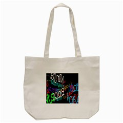 Miami Text Tote Bag (cream)