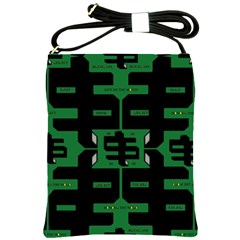 Show Me The Money Shoulder Sling Bags by MRTACPANS