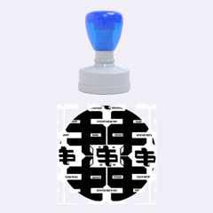 Show Me The Money Rubber Round Stamps (medium) by MRTACPANS