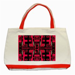 Hnhnhnhnhnhnhn Classic Tote Bag (red) by MRTACPANS