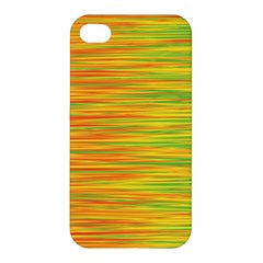 Green And Oragne Apple Iphone 4/4s Hardshell Case by Valentinaart