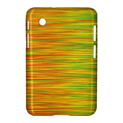 Green And Oragne Samsung Galaxy Tab 2 (7 ) P3100 Hardshell Case  by Valentinaart