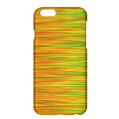 Green And Oragne Apple Iphone 6 Plus/6s Plus Hardshell Case by Valentinaart