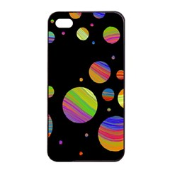 Colorful Galaxy Apple Iphone 4/4s Seamless Case (black) by Valentinaart
