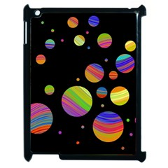 Colorful Galaxy Apple Ipad 2 Case (black) by Valentinaart
