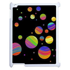 Colorful Galaxy Apple Ipad 2 Case (white) by Valentinaart