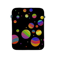Colorful Galaxy Apple Ipad 2/3/4 Protective Soft Cases by Valentinaart