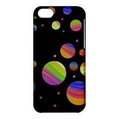 Colorful Galaxy Apple Iphone 5c Hardshell Case by Valentinaart