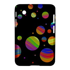 Colorful Galaxy Samsung Galaxy Tab 2 (7 ) P3100 Hardshell Case  by Valentinaart