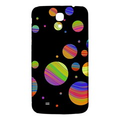 Colorful Galaxy Samsung Galaxy Mega I9200 Hardshell Back Case by Valentinaart