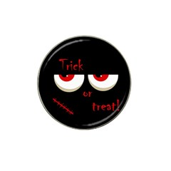 Halloween  trick Or Treat    Monsters Red Eyes Hat Clip Ball Marker (10 Pack) by Valentinaart