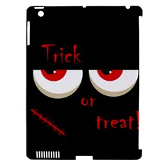 Halloween  trick Or Treat    Monsters Red Eyes Apple Ipad 3/4 Hardshell Case (compatible With Smart Cover) by Valentinaart