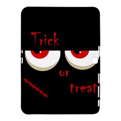 Halloween  trick Or Treat    Monsters Red Eyes Samsung Galaxy Tab 4 (10 1 ) Hardshell Case  by Valentinaart