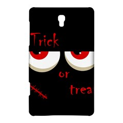 Halloween  trick Or Treat    Monsters Red Eyes Samsung Galaxy Tab S (8 4 ) Hardshell Case