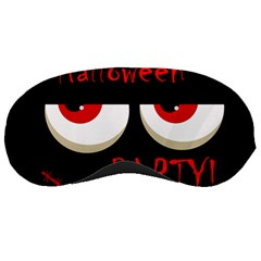 Halloween Party   Red Eyes Monster Sleeping Masks by Valentinaart