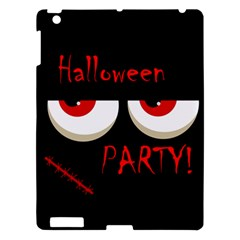 Halloween Party   Red Eyes Monster Apple Ipad 3/4 Hardshell Case by Valentinaart