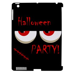 Halloween Party   Red Eyes Monster Apple Ipad 3/4 Hardshell Case (compatible With Smart Cover) by Valentinaart