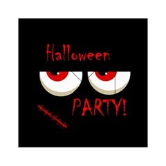 Halloween Party   Red Eyes Monster Acrylic Tangram Puzzle (6  X 6 ) by Valentinaart