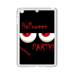 Halloween Party   Red Eyes Monster Ipad Mini 2 Enamel Coated Cases by Valentinaart