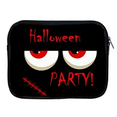 Halloween Party   Red Eyes Monster Apple Ipad 2/3/4 Zipper Cases by Valentinaart