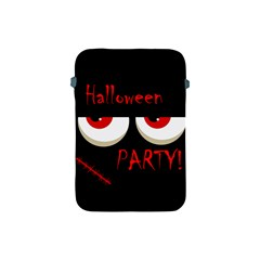Halloween Party   Red Eyes Monster Apple Ipad Mini Protective Soft Cases by Valentinaart