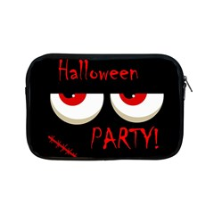 Halloween Party   Red Eyes Monster Apple Ipad Mini Zipper Cases by Valentinaart