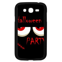 Halloween Party   Red Eyes Monster Samsung Galaxy Grand Duos I9082 Case (black) by Valentinaart