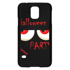 Halloween Party   Red Eyes Monster Samsung Galaxy S5 Case (black) by Valentinaart