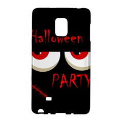 Halloween Party   Red Eyes Monster Galaxy Note Edge by Valentinaart