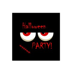 Halloween Party   Red Eyes Monster Satin Bandana Scarf by Valentinaart