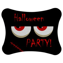 Halloween Party   Red Eyes Monster Jigsaw Puzzle Photo Stand (bow) by Valentinaart