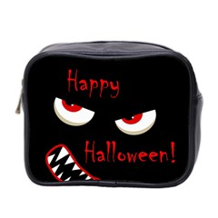 Happy Halloween   Red Eyes Monster Mini Toiletries Bag 2 Side
