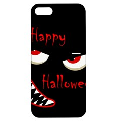 Happy Halloween   Red Eyes Monster Apple Iphone 5 Hardshell Case With Stand by Valentinaart