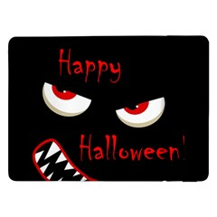 Happy Halloween   Red Eyes Monster Samsung Galaxy Tab Pro 12 2  Flip Case by Valentinaart