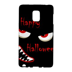 Happy Halloween   Red Eyes Monster Galaxy Note Edge by Valentinaart