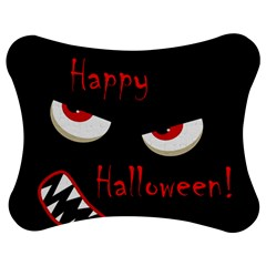 Happy Halloween   Red Eyes Monster Jigsaw Puzzle Photo Stand (bow) by Valentinaart