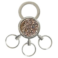 Nitter Stone 3 Ring Key Chains