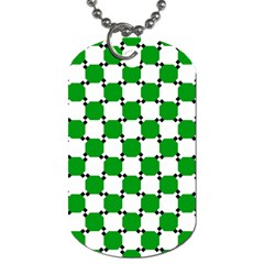 Optical Illusion Dog Tag (two Sides) by AnjaniArt