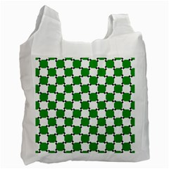 Optical Illusion Recycle Bag (two Side)