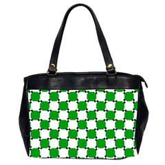 Optical Illusion Office Handbags (2 Sides)  by AnjaniArt