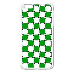 Optical Illusion Apple Iphone 6 Plus/6s Plus Enamel White Case