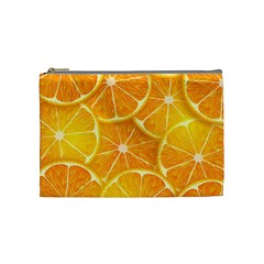 Orange Copy Cosmetic Bag (medium)
