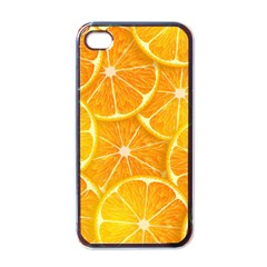 Orange Copy Apple Iphone 4 Case (black) by AnjaniArt