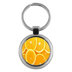 Orange Fruit Key Chains (round)