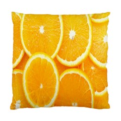 Orange Fruit Standard Cushion Case (two Sides) by AnjaniArt