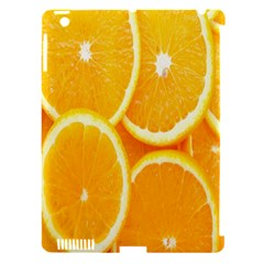 Orange Fruit Apple Ipad 3/4 Hardshell Case (compatible With Smart Cover) by AnjaniArt