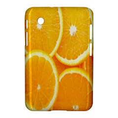 Orange Fruit Samsung Galaxy Tab 2 (7 ) P3100 Hardshell Case  by AnjaniArt