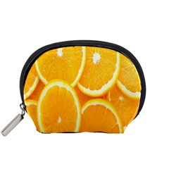 Orange Fruit Accessory Pouches (small)  by AnjaniArt