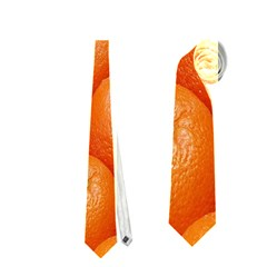 Orange Fruits Neckties (one Side)  by AnjaniArt
