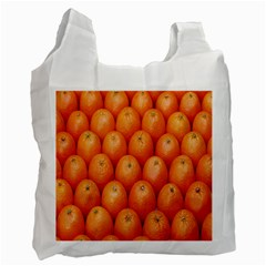 Orange Fruits Recycle Bag (one Side) by AnjaniArt